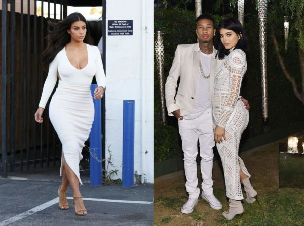 Kim Kardashian kyle Jenner Tyga