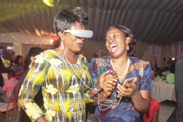 M.D Okay Fones and Glory Adegbamigbe Experiencing LG G5