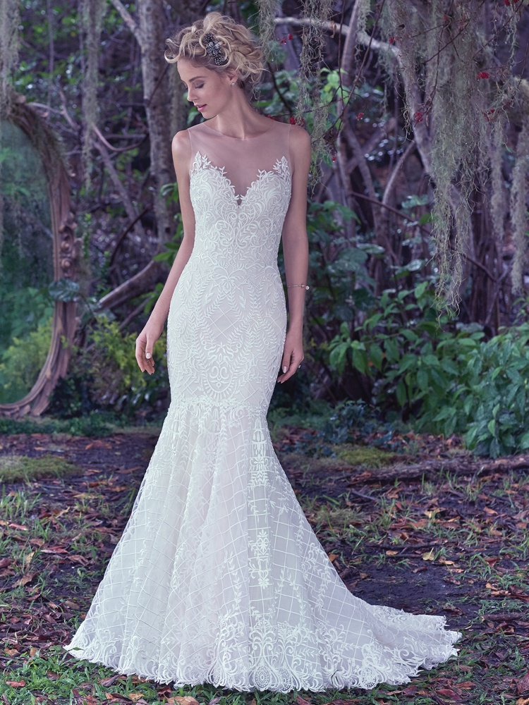 Maggie-Sottero-Analeigh-BN Bridal - Front -BellaNaija - 2016