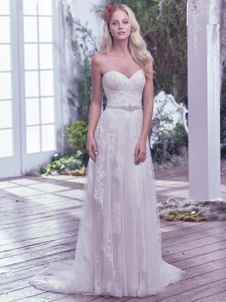 Maggie-Sottero-Bailey-front-BN Bridal - BellaNaija - 2016