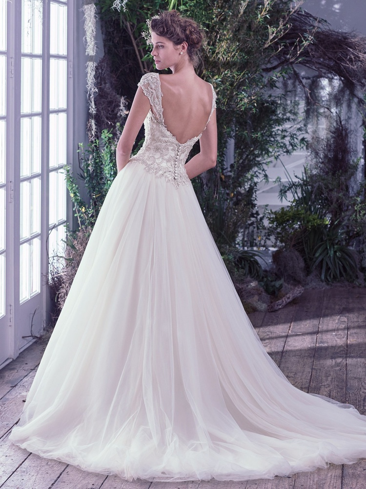 Maggie-Sottero-Beverly-BackBN Bridal - BellaNaija - 2016