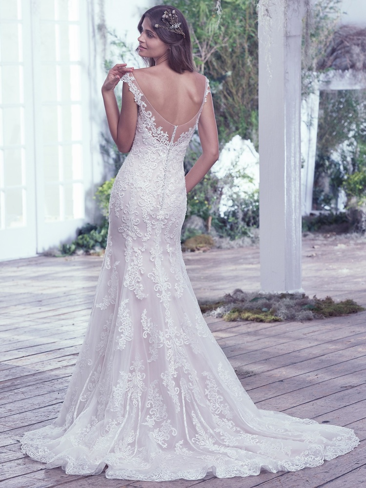 Maggie-Sottero-Carson-BackBN Bridal - BellaNaija - 2016