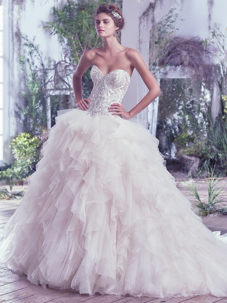 Maggie-Sottero-Castalia-BN Bridal - BellaNaija - 2016