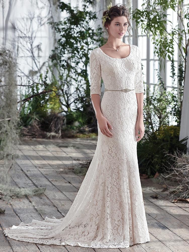 Maggie-Sottero-Fairchild-BN Bridal - BellaNaija - 2016
