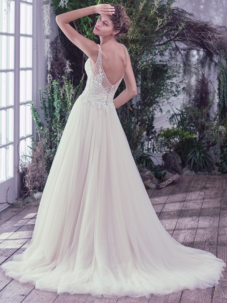 Maggie-Sottero-Jovanna-BackBN Bridal - BellaNaija - 2016