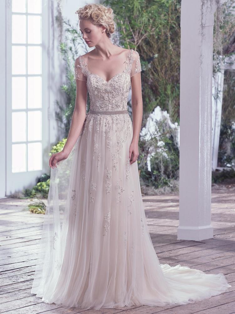 Maggie-Sottero-Kylie- BN Bridal - BellaNaija - 2016
