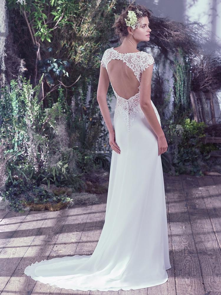 Maggie-Sottero-Phaedra-Back-BN Bridal - BellaNaija - 2016