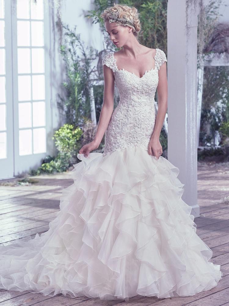 Maggie-Sottero-Tawny-BN Bridal - BellaNaija - 2016