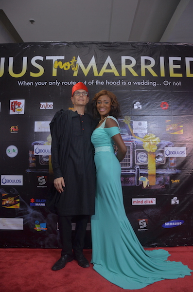 Morten Foght and Judith Audu
