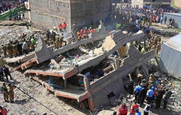 Nairobi-collapsed Building