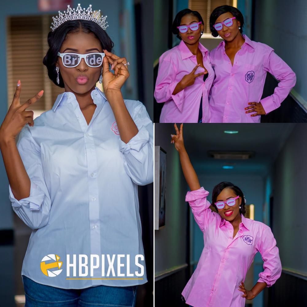 Nigerian Bride and Bridesmaids_BellaNaija Weddings_HB Pixels 2