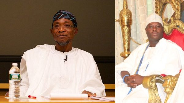 Ooni and Rauf Aregbesola
