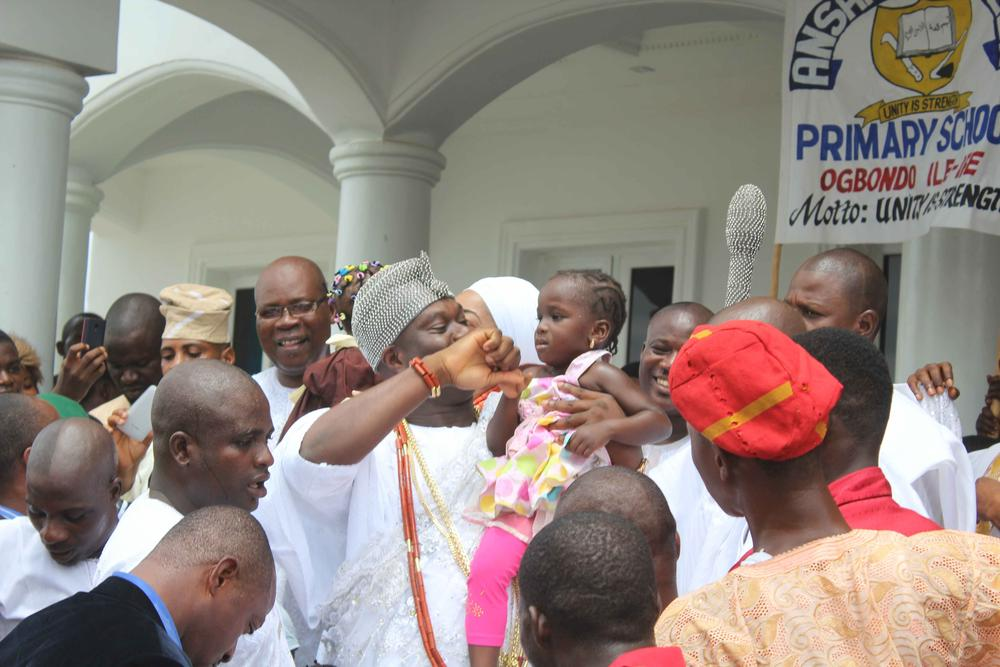 Ooni on Childrens Day1
