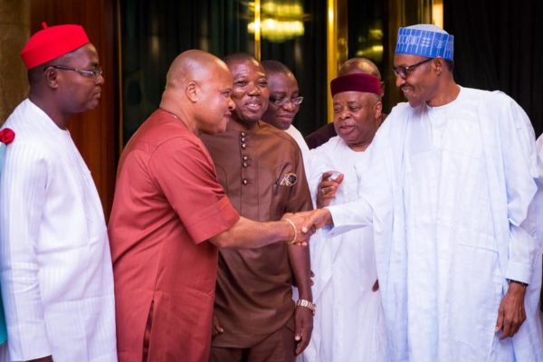 PMB Meets South-East APC Leaders1