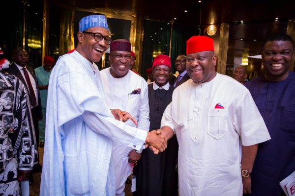 PMB Meets South-East APC Leaders2
