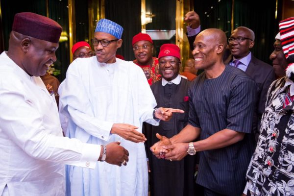 PMB Meets South-East APC Leaders4