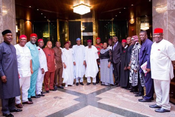 PMB Meets South-East APC Leaders5