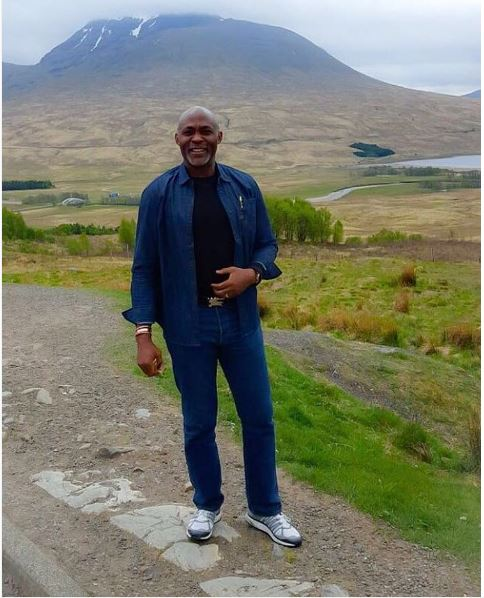 Richard Mofe-Damijo tales funs my excursion to Scotland  with Don Jazzy.