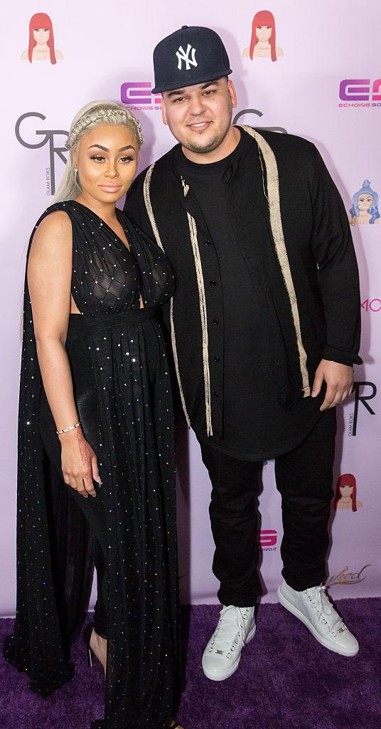 Rob Kardashian and Blac Chyna (4)