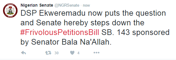 Senate Withdraws Anti Social Media Bill