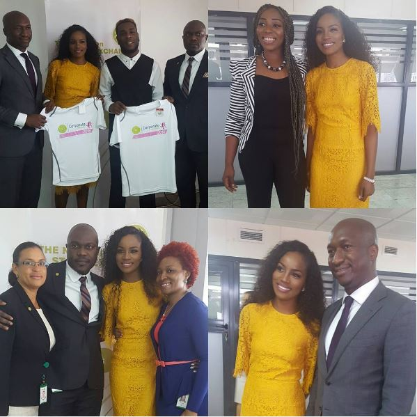 CONGRATS: Seyi Shay & Burna Boy Unveiled As Ambassadors For NSE's Corporate Challenge