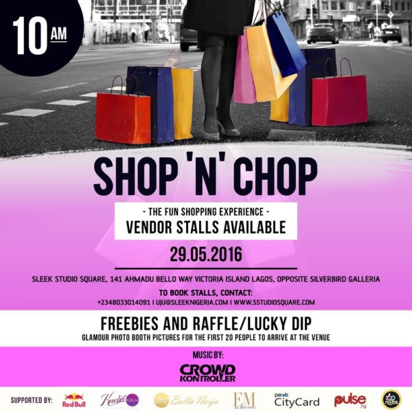 Shop N Chop Flyer