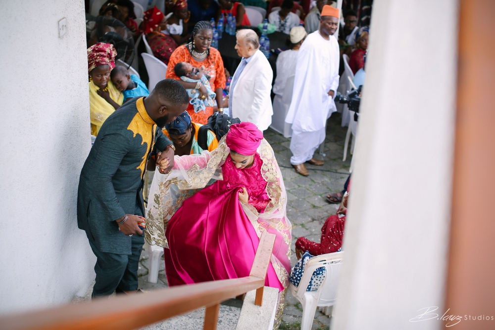 Sophie - Wale - Alakija - Traditional Wedding - BellaNaija - 2016 - Lagos - 40