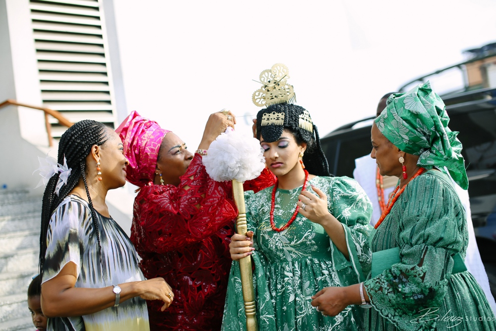 Sophie - Wale - Alakija - Traditional Wedding - BellaNaija - 2016 - Lagos - 77