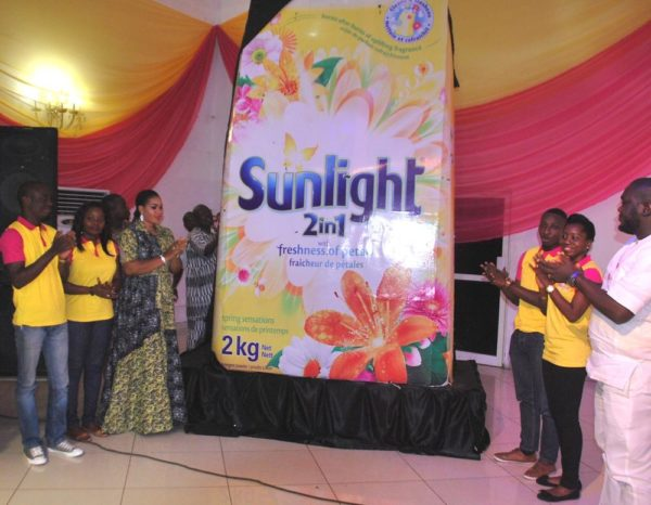 Unveiling of the new improved Sunlight detergent at Alarambara Owambe
