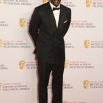 Idris Elba poses in the winners room at the House Of Fraser British Academy Television Awards 2016 at the Royal Festival Hall on May 8, 2016 in London, England.