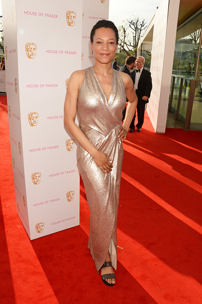 LONDON, ENGLAND - MAY 08:  Nina Sosanya attends the House Of Fraser British Academy Television Awards 2016 at the Royal Festival Hall on May 8, 2016 in London, England.  (Photo by David M. Benett/Dave Benett/Getty Images)
