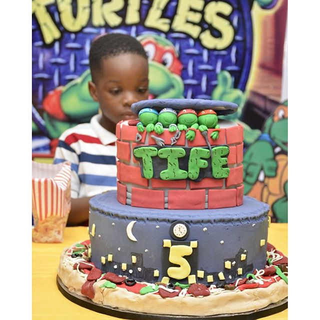 Tife Wizkid at 5 Birthday 5