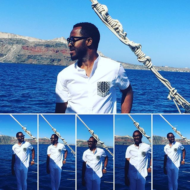 Titi Sonuga Seun Williams' Santorini Fun 2