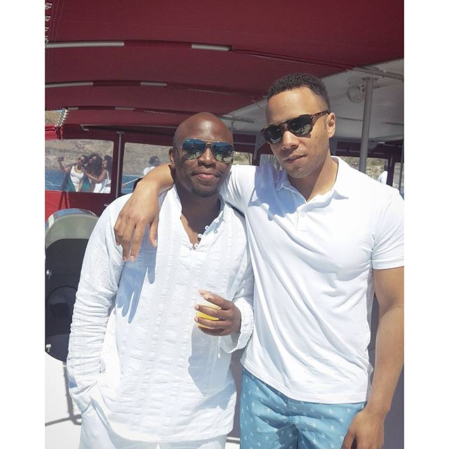 Titi Sonuga Seun Williams' Santorini Fun 4