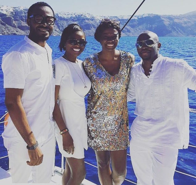 Titi Sonuga Seun Williams' Santorini Fun 6