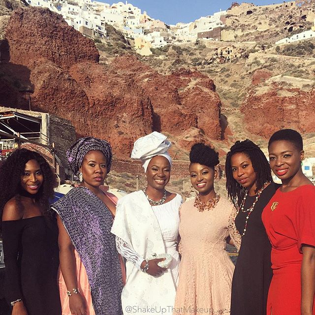 Titi Sonuga Seun Williams' Santorini Trad 4