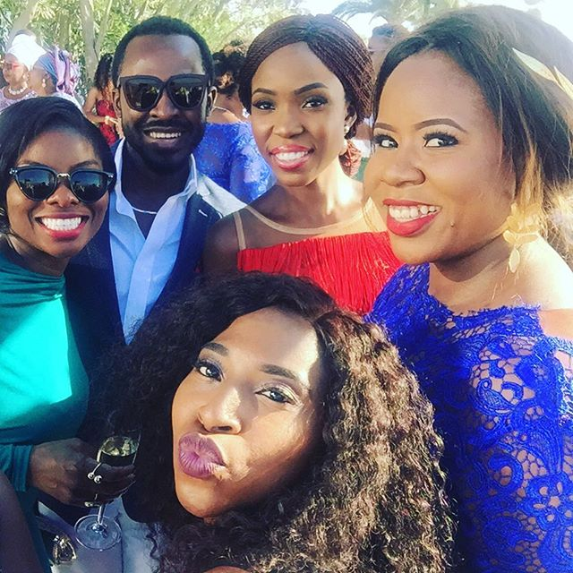Titi Sonuga Seun Williams' Santorini Wedding 10