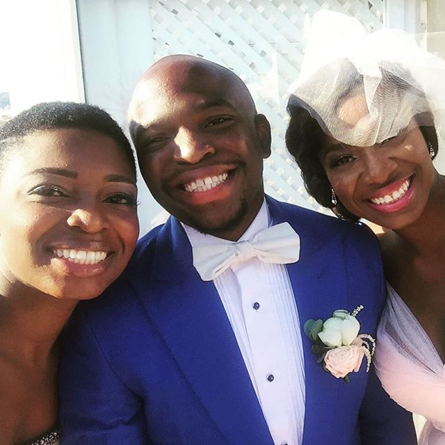 Titi Sonuga Seun Williams' Santorini Wedding 3