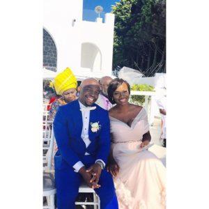 Titi Sonuga Seun Williams' Santorini Wedding 4