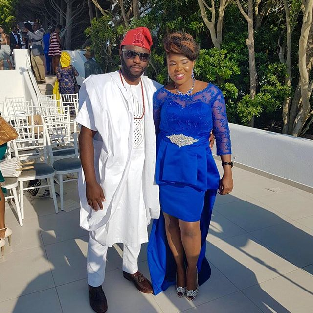 Titi Sonuga Seun Williams' Santorini Wedding 7