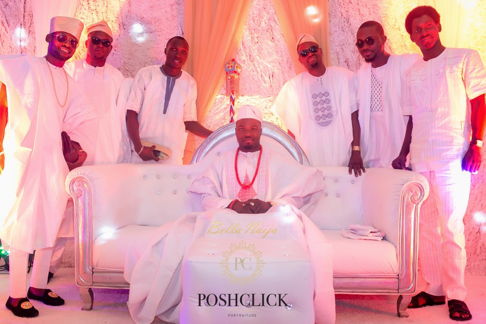 Tolu and Gbenga_BellaNaija Weddings 2016_Lagos Traditional Yoruba Wedding_PoshClick Photography_04