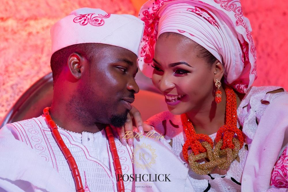 Tolu and Gbenga_BellaNaija Weddings 2016_Lagos Traditional Yoruba Wedding_PoshClick Photography_19