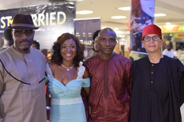 Toni Kan, Judith Audu, Adeniran Adedokun and Morten Foght