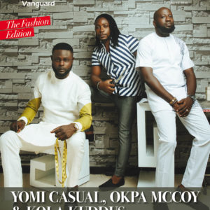 Vanguard Allure_Yomi Casual, Okpa McCoy and Kola Kuddus