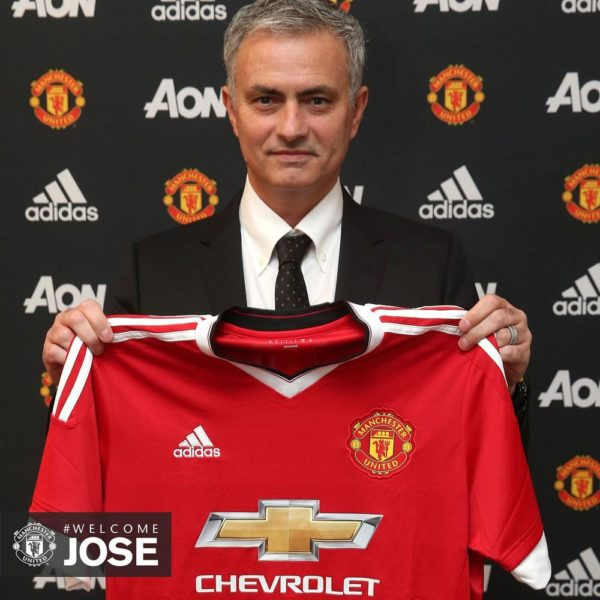 Welcome Jose Manchester United