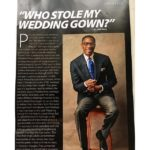 Who Stole my Wedding Gown Tony Rapu