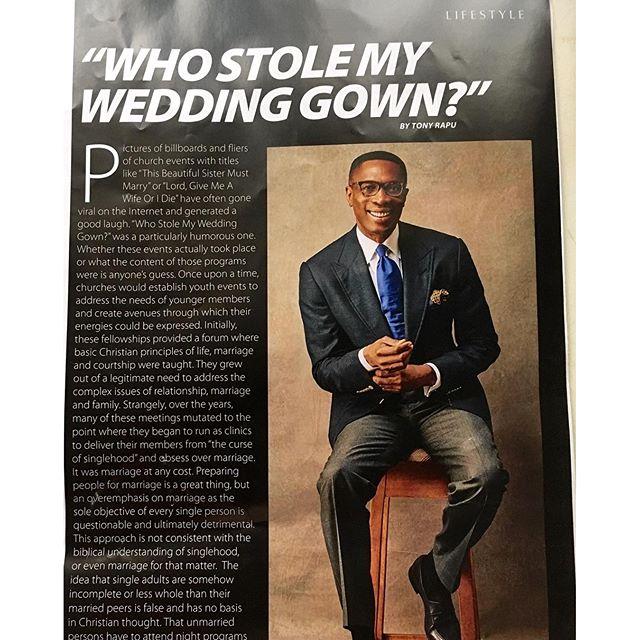 Who Stole my Wedding Gown Tony Rapu