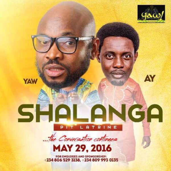 Yaw and AY in Shalanga