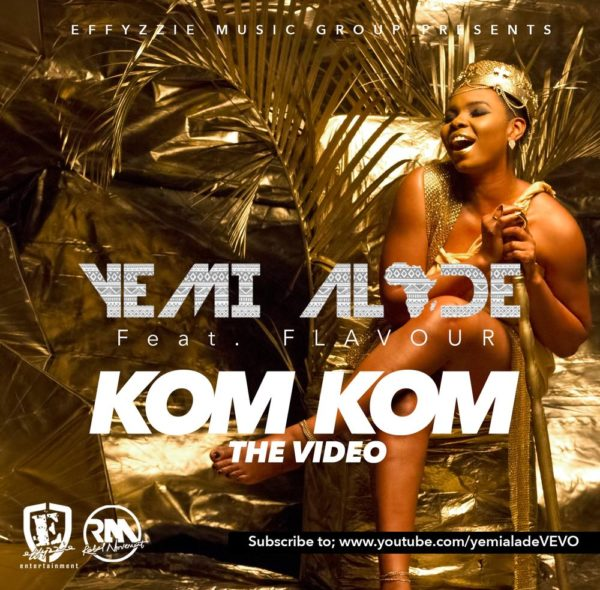 Yemi Alade - Kom Kom feat. Flavour [Video Poster] (3)