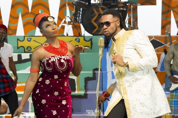 Yemi Alade - Kom Kom ft. Flavour [B-T-S Photo] (7)